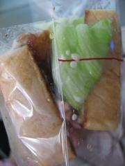 MOS法式炸蝦三明治側面