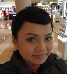 20081128沛柔幫我化的MQ聖誕彩妝3