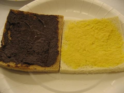 高雄站前康橋商旅的早餐-烤土司