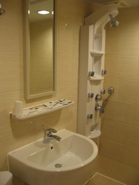 高雄站前康橋商旅的浴室