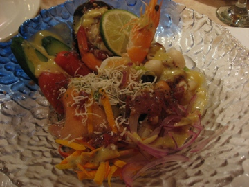 布列塔尼的海鮮沙拉.JPG