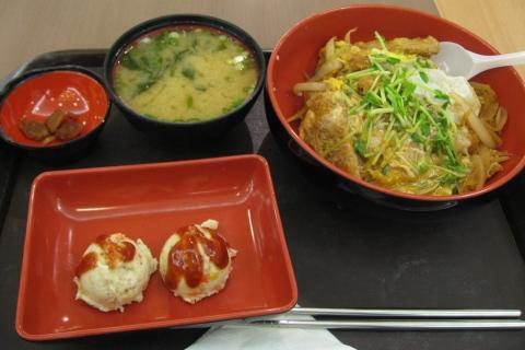 台中新光11樓乙味屋的豬排飯套餐.JPG