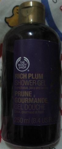 The Body shop紫莓沐浴膠.JPG