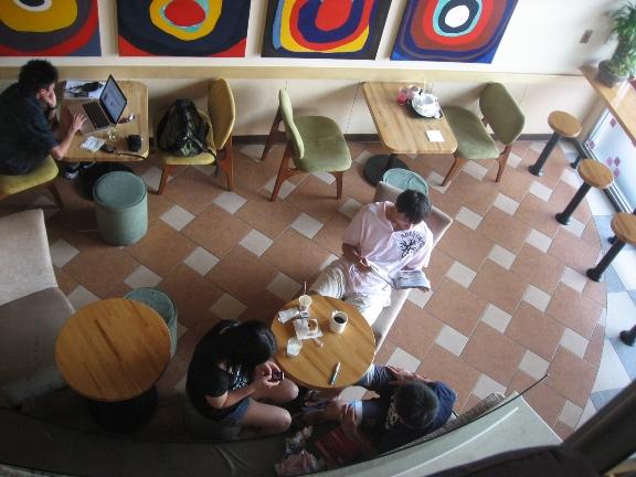 貝果&咖啡 一樓景致.JPG