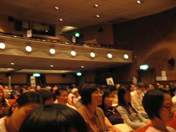 日本福音節九段會館內聚會時情形.JPG