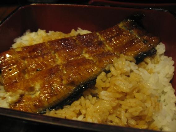 20080820大東屋鰻魚飯.JPG
