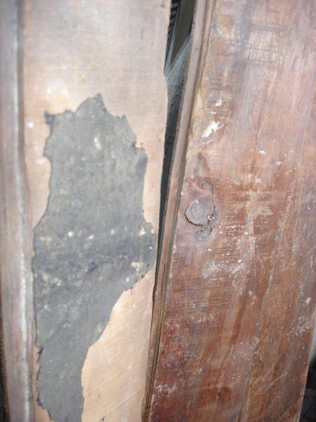 木板正面與背面