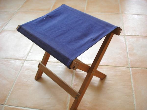 修改前的折疊椅