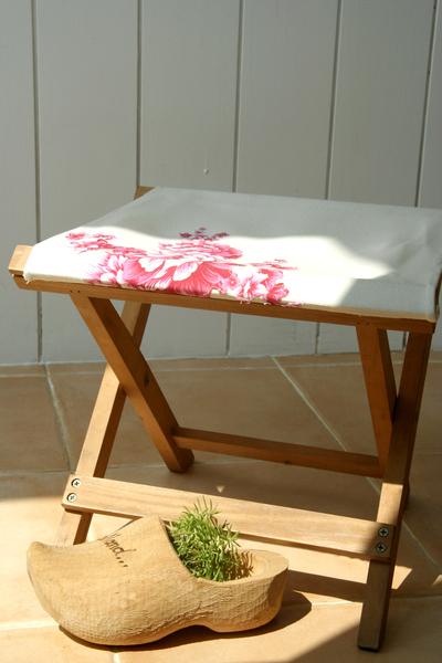 修改後的折疊椅