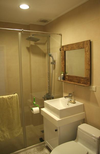 裝潢後的浴室