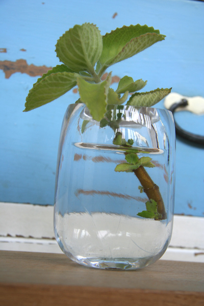 製作琉璃花瓶