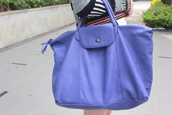 藍紫色包包