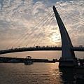 漁人橋日落