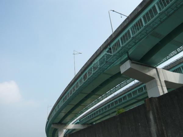 基隆河河畔車道