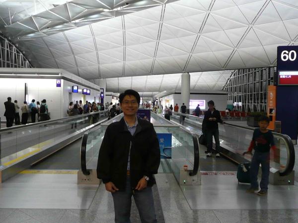 超級大的香港機場....