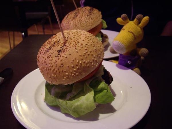 我的晚餐,大漢堡