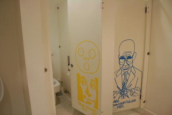 DesignMuseum的廁所
