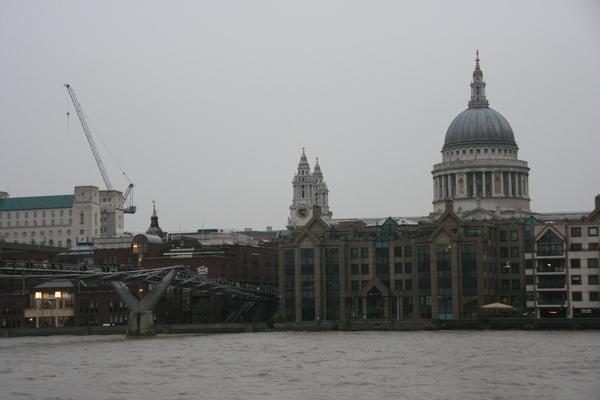 上周來過的千禧橋與St Paul\'s大教堂