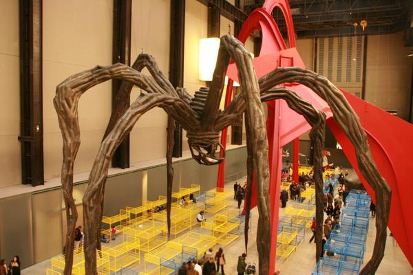 Tate Modern內的大蜘蛛