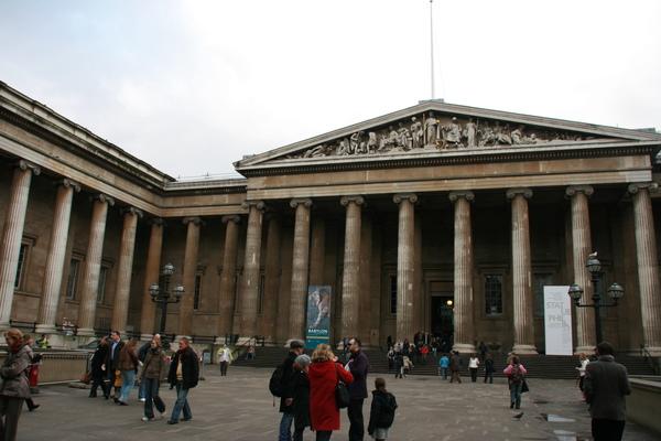 大英博物館正門