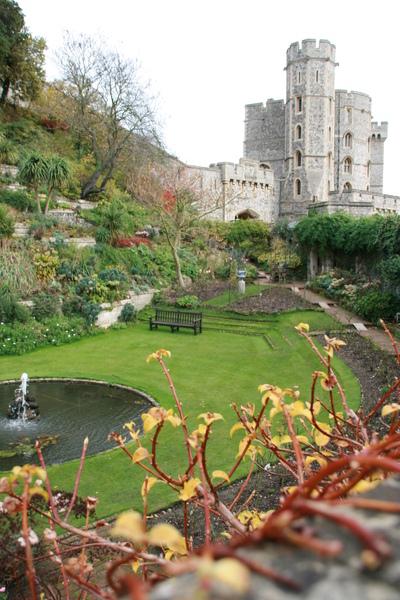 城堡的花園