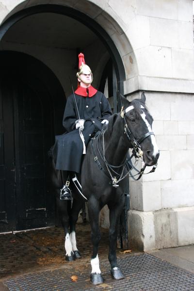 騎馬的皇家衛兵
