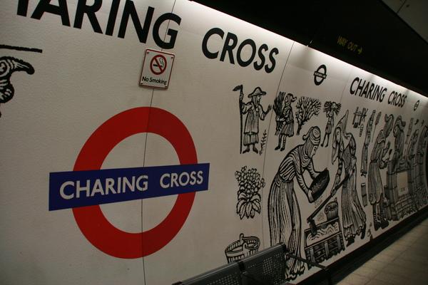 第一站Charing Cross
