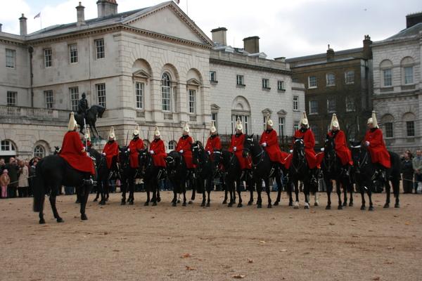 又來到Horse Guard