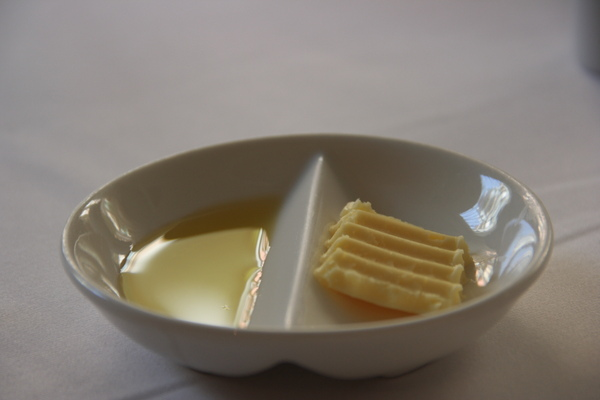奶油+橄欖油
