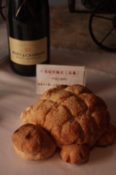 烏龜麵包實在是太cute了