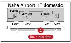 04LCC機場到那霸國內線巴士下車處