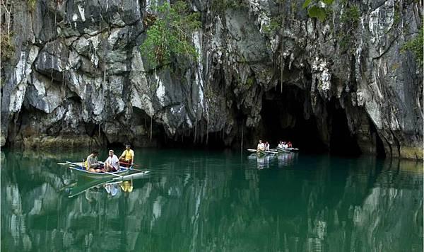 巴拉望地下洞窟