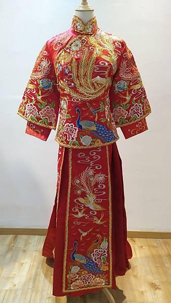 中式婚紗禮服1