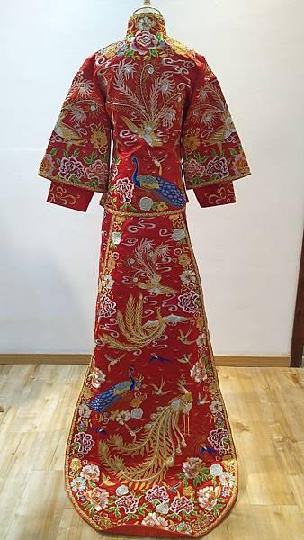 中式婚紗禮服2