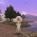 薩洛尼卡的紫色黃昏