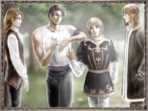 拉菲爾和他的同伴們