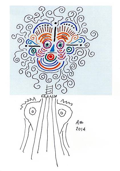 MisterPresident_Alessi_AM01_4_R_drawing_Alessandro_Mendini_Anna_G_20th_anniversary
