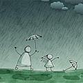 soak-wet-rain-umbrella
