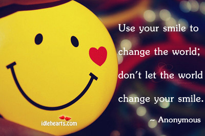 Use-your-smile-to