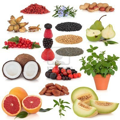 7441663-healthy-super-food-collection-of-nuts-dried-and-fresh-fruit-herbs-and-pulses-very-high-in-antioxidan