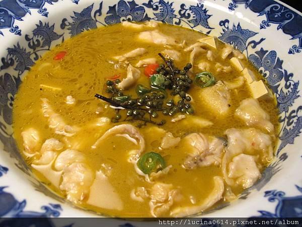 俏江南 - 鮮青椒水煮魚