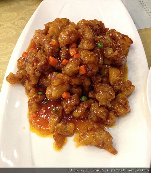 糖醋櫻桃肉