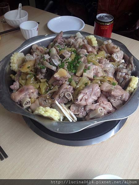 老妹兒  泡姜三絕 - 泡姜蹄花鍋