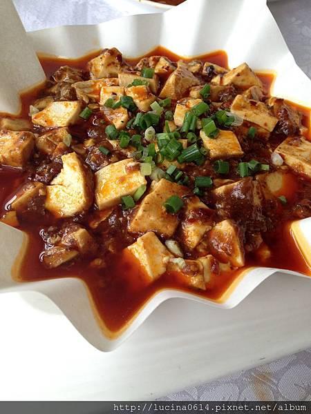 海蠣麻婆豆腐