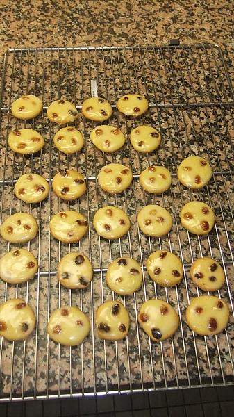 我的實作成品 - Palets aux raisins