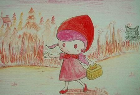紅色系童話-小紅帽