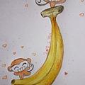 小猴子愛 J 蕉