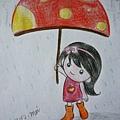 撐ㄒ菇傘看雨晴之花