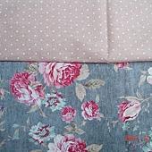 經典時尚材料包-湖水綠玫瑰