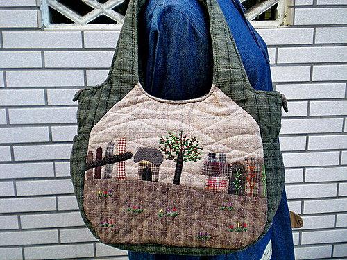 鄉村風縫紉包